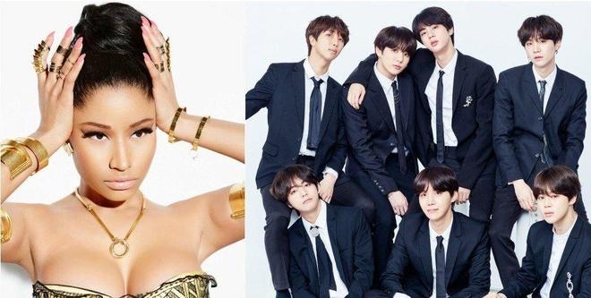 BTS phat hanh MV 'Idol' co su gop mat cua Nicki Minaj hinh anh