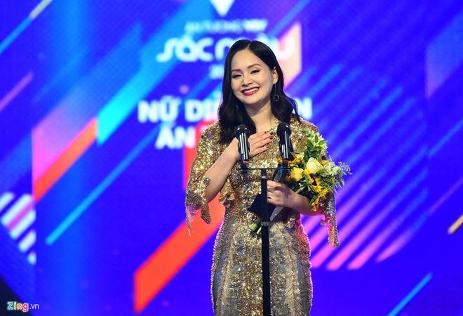 Lan Phuong chia se ve viec thang Nha Phuong tai giai VTV Awards hinh anh 2