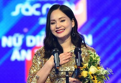 Lan Phuong chia se ve viec thang Nha Phuong tai giai VTV Awards hinh anh