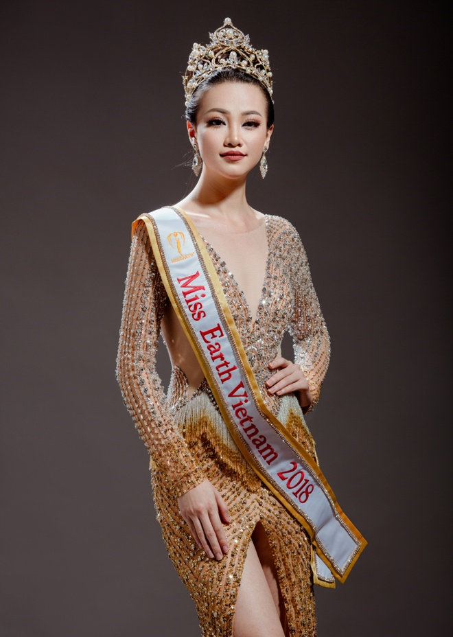 Nguyen Phuong Khanh dai dien Viet Nam tham gia Hoa hau Trai dat 2018 hinh anh 1