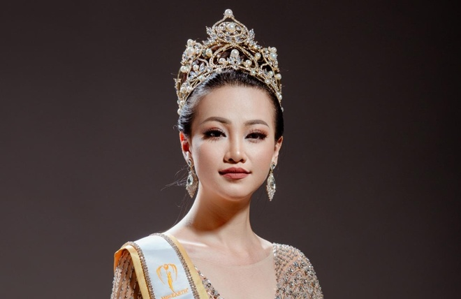 Nguyen Phuong Khanh dai dien Viet Nam tham gia Hoa hau Trai dat 2018 hinh anh