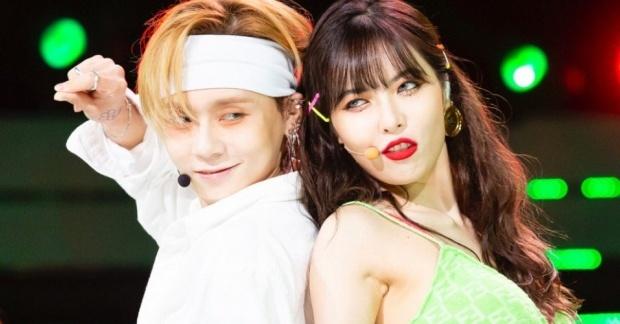 HyunA roi cong ty sau lum xum hen ho ban trai kem tuoi? hinh anh
