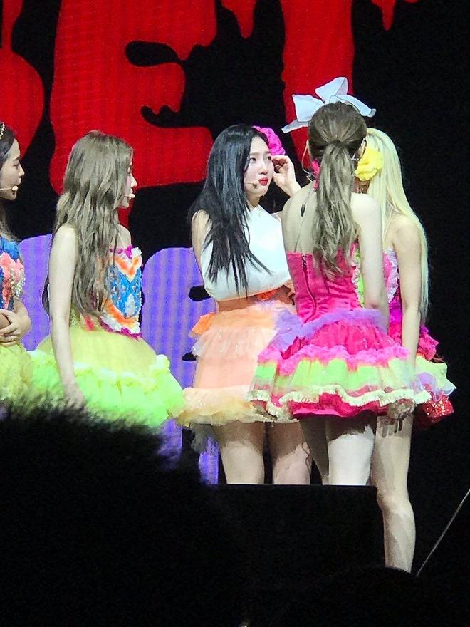 Thanh vien Red Velvet nhap vien vi bi chan thuong khi dang bieu dien hinh anh 2