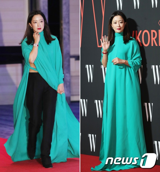 Minh tinh Kim Hee Sun mac kho hieu trong su kien toan sao hang A hinh anh 1