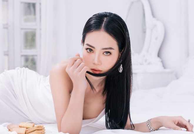 'Lan cave' Thanh Huong: 'Con oa khoc, chong soc khi xem Quynh bup be' hinh anh