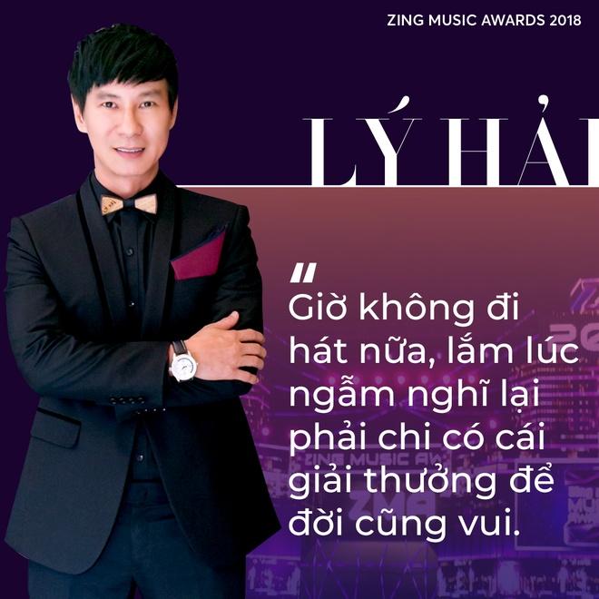 Ly Hai ngoi ghe Hoi dong nghe thuat cua Zing Music Awards 2018 hinh anh 2