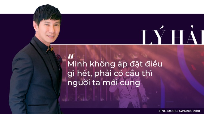 Ly Hai ngoi ghe Hoi dong nghe thuat cua Zing Music Awards 2018 hinh anh 3