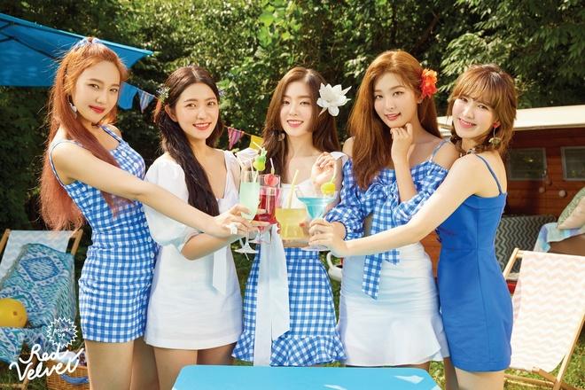 Red Velvet lot BXH Billboard anh 1