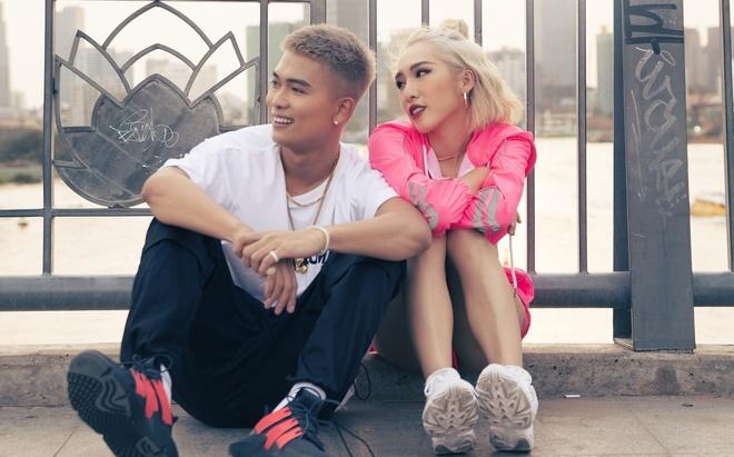 Vo chong Big Daddy, Emily khoa moi ngot ngao trong MV Valentine hinh anh 1