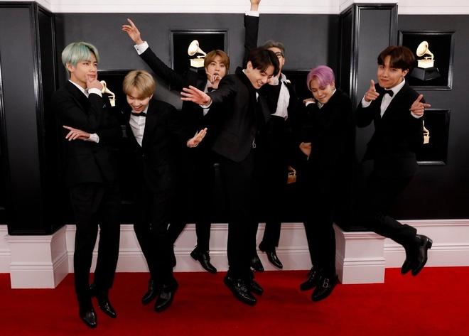 BTS dep trai, lich lam trong lan dau tham gia le trao giai Grammy hinh anh 7