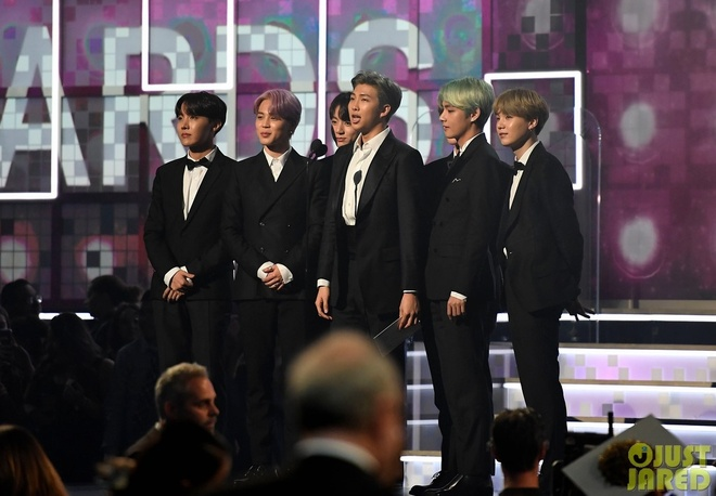 BTS dep trai, lich lam trong lan dau tham gia le trao giai Grammy hinh anh 4