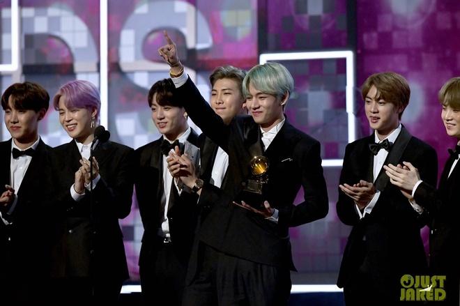 BTS dep trai, lich lam trong lan dau tham gia le trao giai Grammy hinh anh 3
