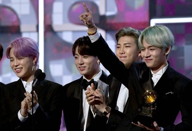 BTS dep trai, lich lam trong lan dau tham gia le trao giai Grammy hinh anh
