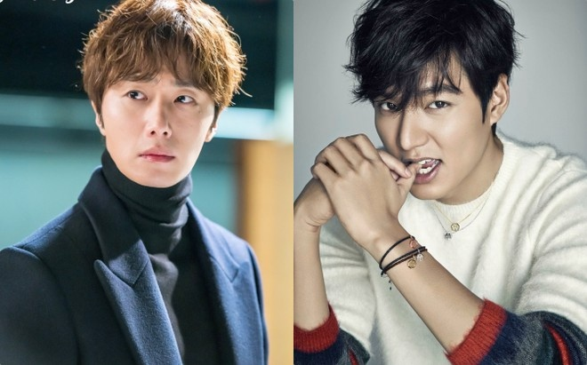 Jung Il Woo khen ngoi ban than Lee Min Ho: 'Cau ay nhu co hao quang' hinh anh 1