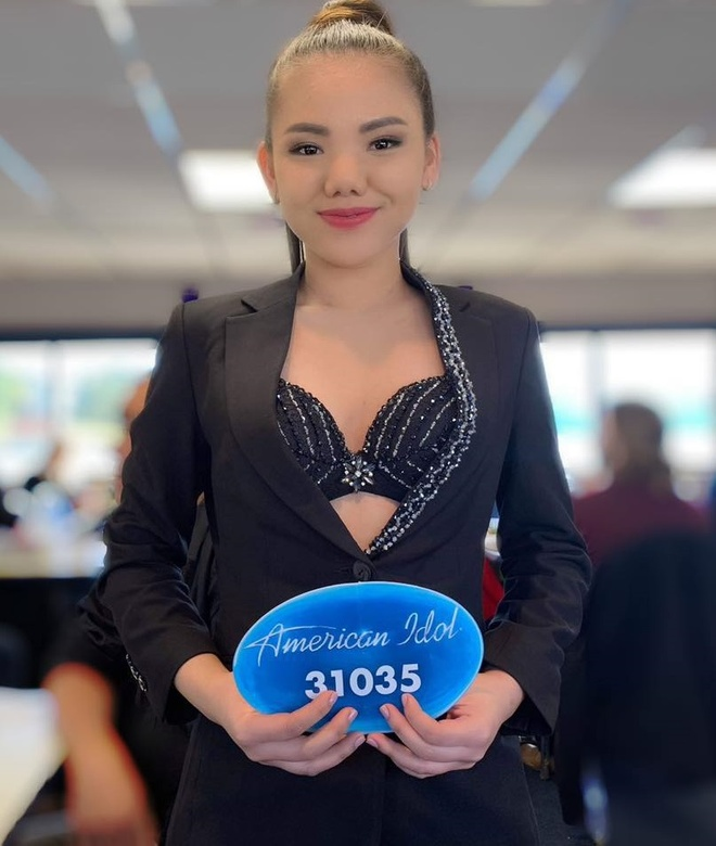 Co gai Viet thi American Idol goi cam o tuoi 20 hinh anh 1