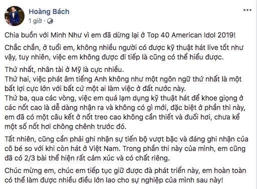 3 ly do khien Minh Nhu du hat khoe van bi loai khoi American Idol hinh anh 2