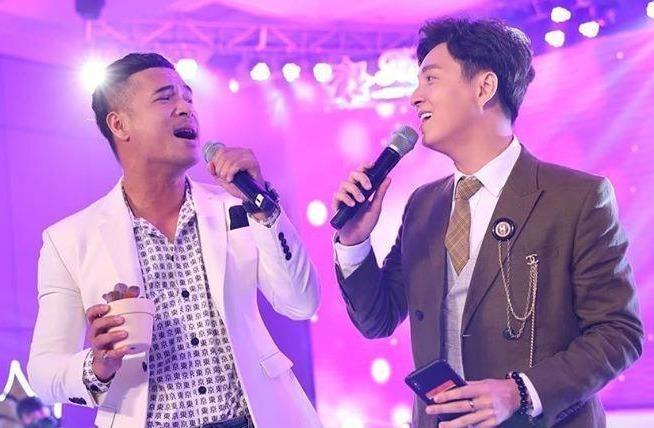 Truong The Vinh, Ngo Kien Huy lan dau song ca 'Tinh yeu hoa gio' hinh anh