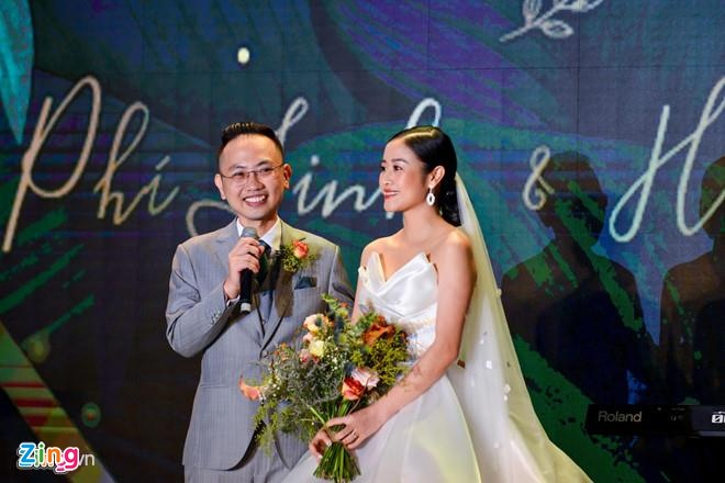 MC Phi Linh: 'Chong toi khong phai soai ca nhung van hut hon' hinh anh 1