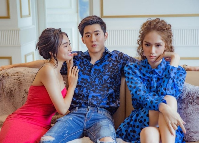 Huong Giang bi che hat khong ro loi trong MV ket hop hot boy Thai Lan hinh anh 1