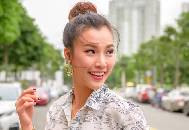 Hoang Oanh: 'Danh ca trai tim de yeu' hinh anh