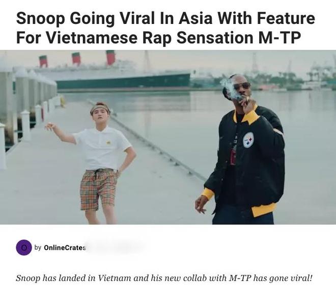 Trang tin hip hop Mỹ: 'Snoop Dogg nổi tiếng hơn ở châu Á nhờ Sơn Tùng'