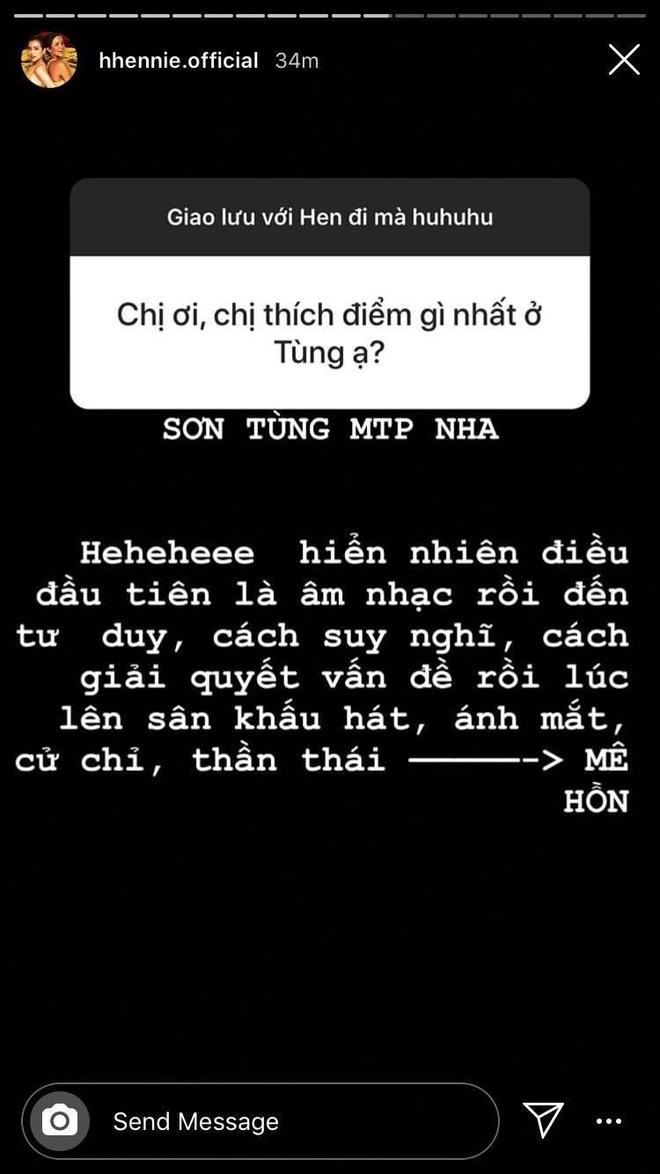 H'Hen Nie 'chan chinh' fan vi khong viet du ten Son Tung M-TP hinh anh 2