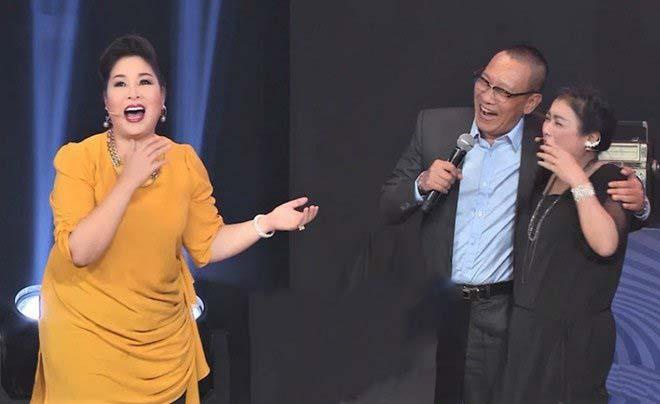 Lai Van Sam to tinh voi nghe si Thanh Thuy tren song truyen hinh hinh anh