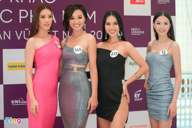 Thi sinh chuyen gioi cung dan nguoi dep du thi Hoa hau Hoan vu 2019 hinh anh 8