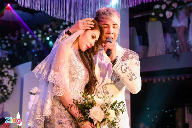 HKT, Khanh Phuong du le cuoi ca si Lam Chan Khang hinh anh 9