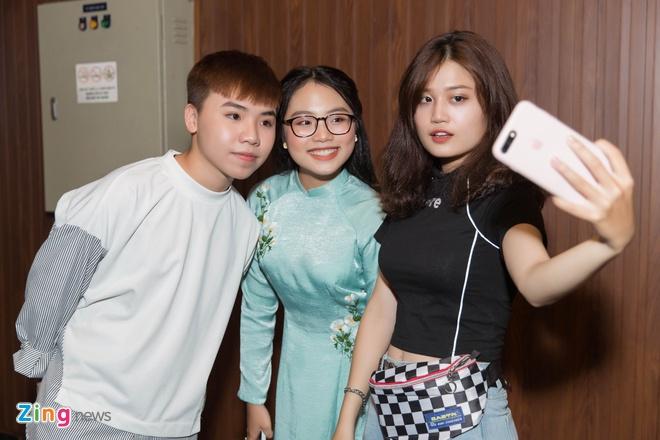 Quang Anh, Phuong My Chi hoi ngo sau nhieu nam hinh anh 4
