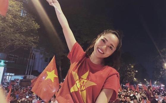 Bao Anh va dan sao Viet phan khich truoc ban thang cua Quang Hai hinh anh 1