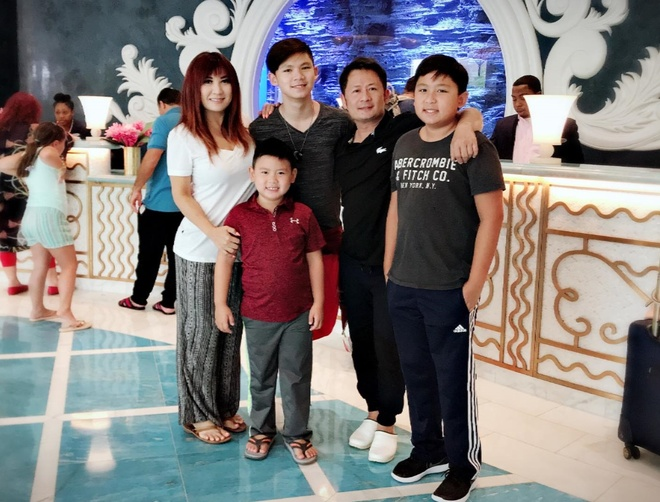 Ba con trai cua Bang Kieu va vo cu Trizzie Phuong Trinh hinh anh 11