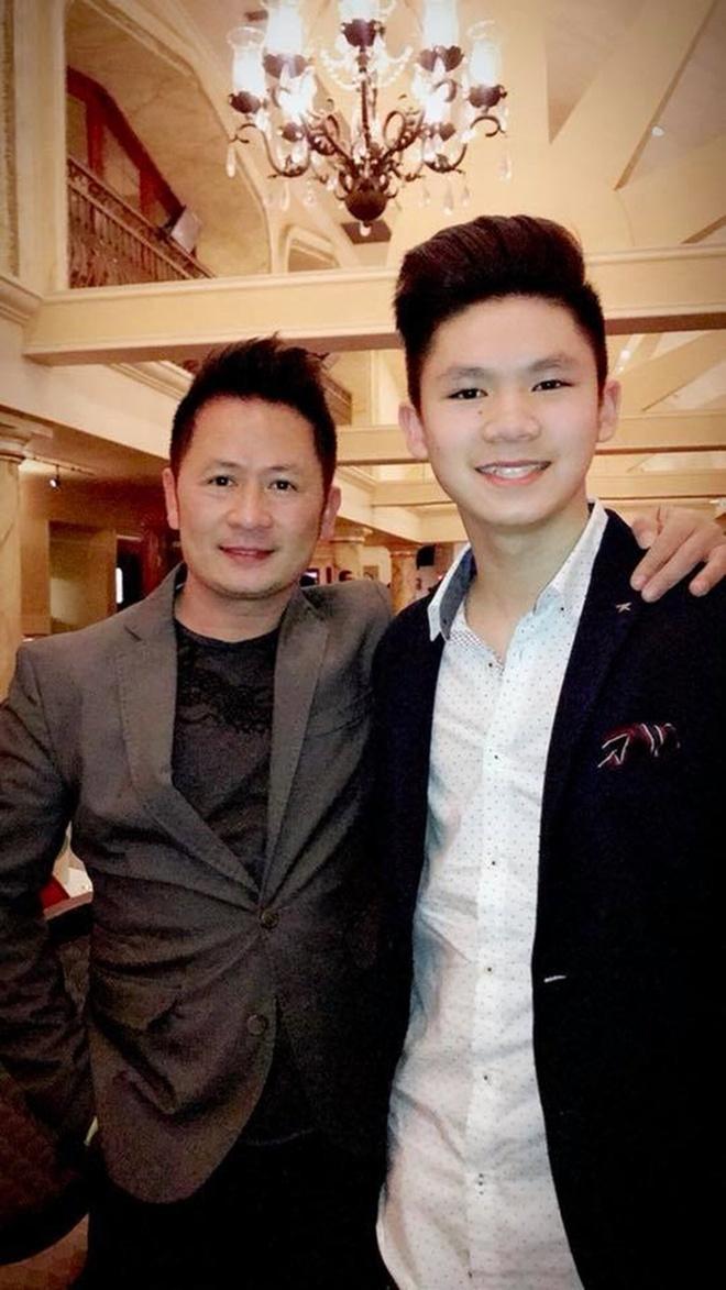 Ba con trai cua Bang Kieu va vo cu Trizzie Phuong Trinh hinh anh 9