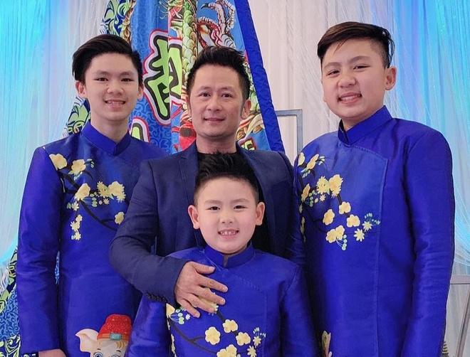 Ba con trai cua Bang Kieu va vo cu Trizzie Phuong Trinh hinh anh 2