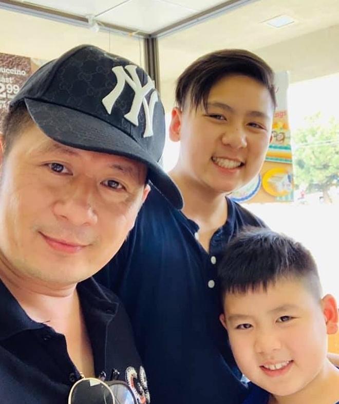 Ba con trai cua Bang Kieu va vo cu Trizzie Phuong Trinh hinh anh 6