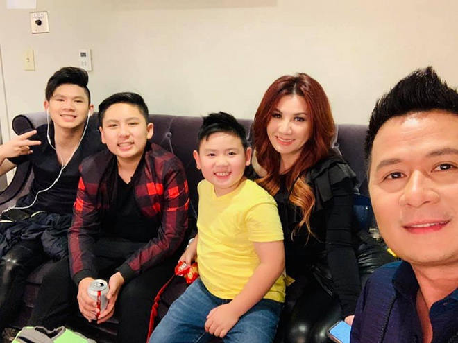 Ba con trai cua Bang Kieu va vo cu Trizzie Phuong Trinh hinh anh 1