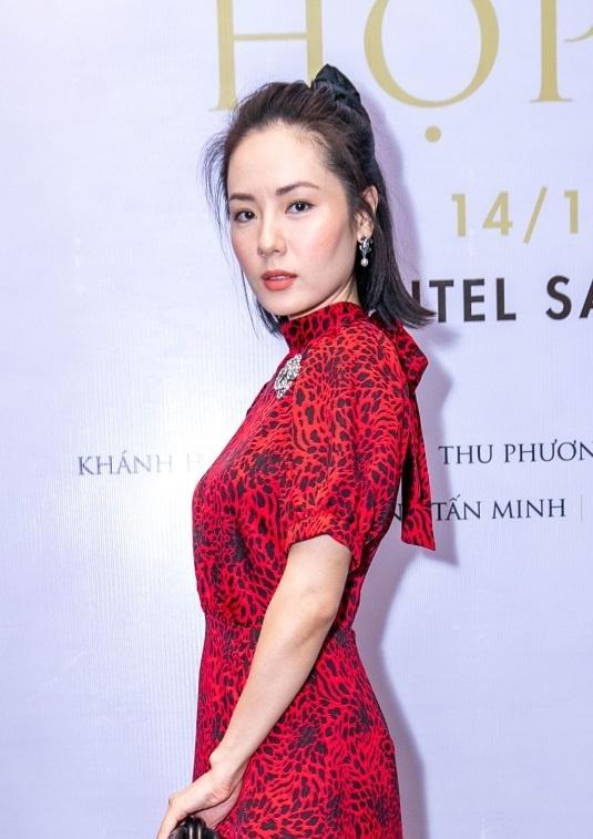 Phuong Linh hiem hoi xuat hien tai su kien hinh anh 2
