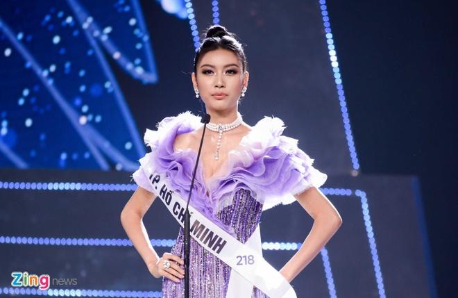 Nguyen Tran Khanh Van dang quang Hoa hau Hoan vu Viet Nam 2019 hinh anh 35