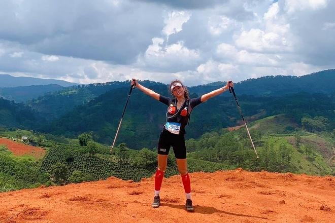 Mau Thuy tham gia Dalat Ultra Trail anh 4