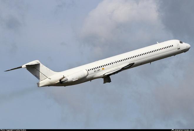 Một chiếc MD-83. Ảnh: Planespotters.