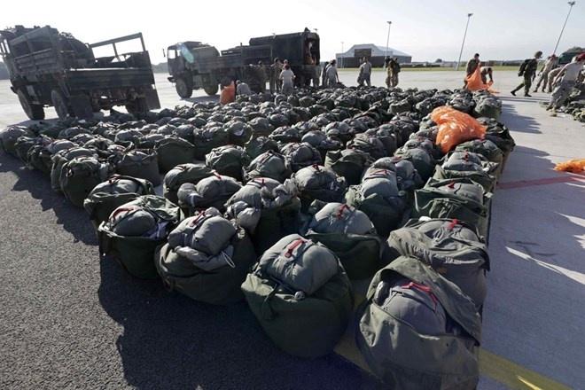 NATO tap tran lon o Latvia sau hoi nghi thuong dinh hinh anh
