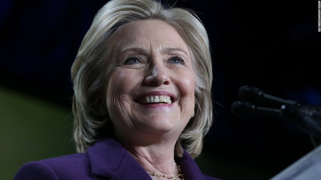 Hillary Clinton chinh thuc ung cu tong thong My hinh anh