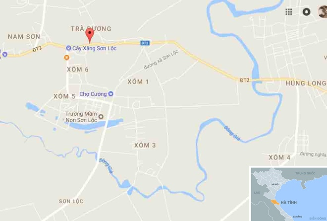 Oto khach tong truc dien xe may, 2 nguoi thuong vong hinh anh 2