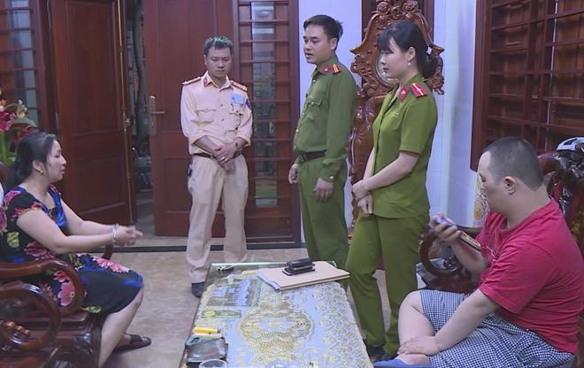 Pha duong day lo de lon o Ha Tinh, bat 14 nghi can hinh anh 1