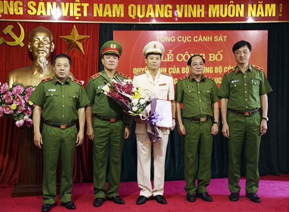 Dai ta Tran Ngoc Ha lam Cuc truong Cuc Canh sat hinh su - C45 hinh anh