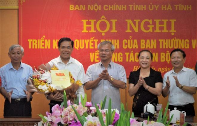 Nguyen chi huy bo doi bien phong lam Truong ban Noi chinh Ha Tinh hinh anh