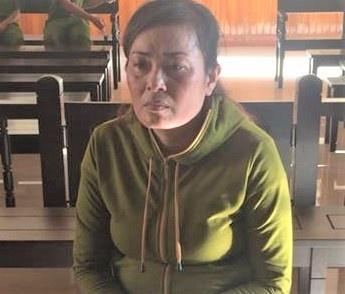 An chung than cho nguoi phu nu van chuyen 3 banh heroin hinh anh 1