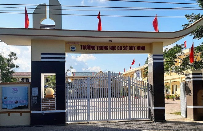 Vu phat hoc sinh 231 cai tat: Co giao nhap vien hinh anh 2