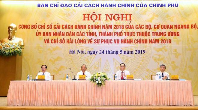 Cong bo chi so cai cach hanh chinh: Bo Giao thong Van tai cuoi bang hinh anh 1
