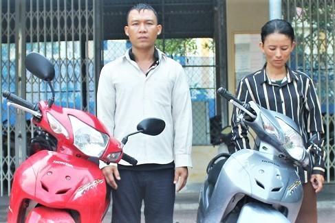 Bat 'doi tinh nhan' tu Quang Binh ra Ha Tinh trom xe may hinh anh 1